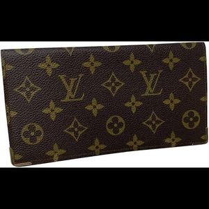 Authentic Louis Vuitton large Wallet.